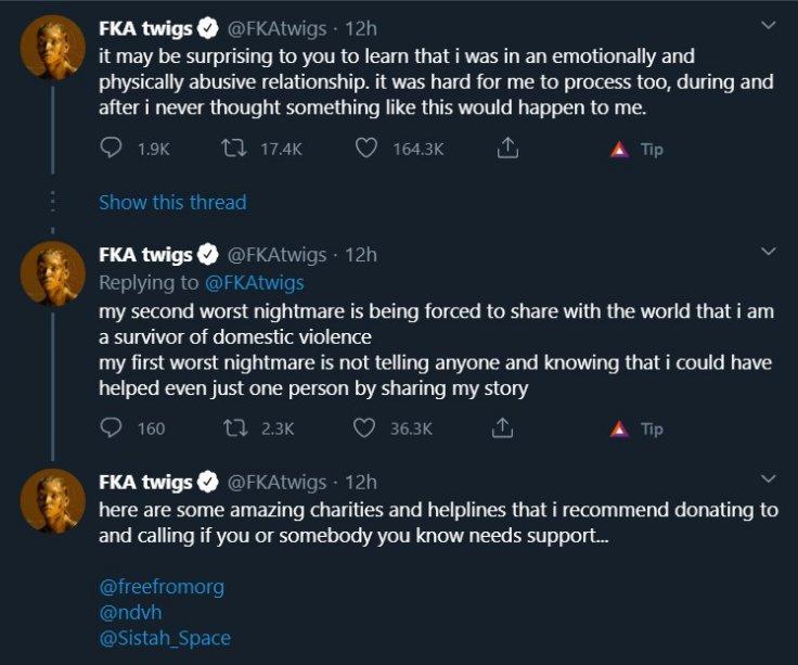 FKA Twigs Twitter