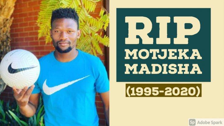 Footballer Motjeka Madisha