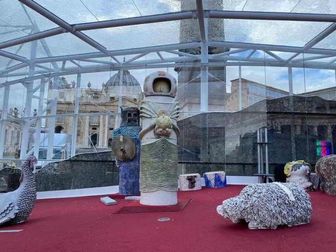 Vatican Nativity Scene