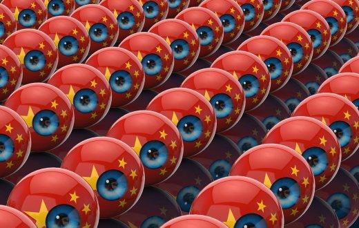 China surveillance