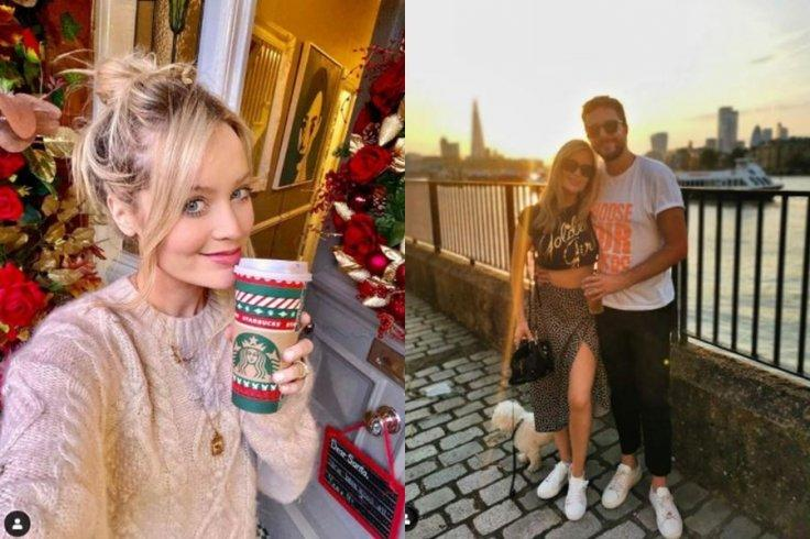 Pregnant Laura Whitmore Married Iain Stirling