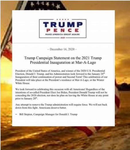 Trump Campaign Statement