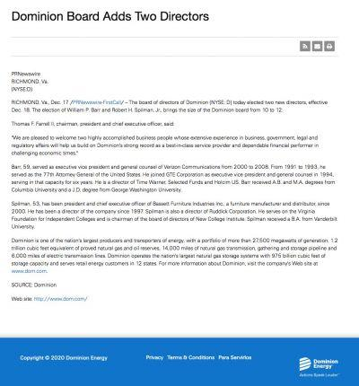 Dominion Energy Services