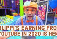 Blippi aka Stevin John's Earnings from YouTube