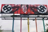 Don the Con billboard