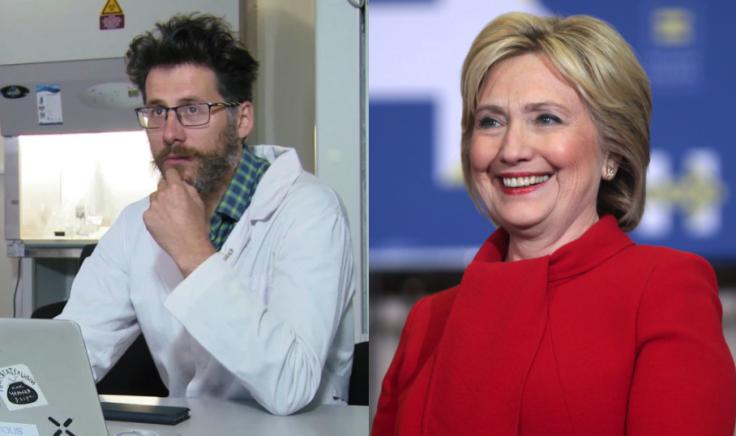 Alexander Kagansky and Hillary Clinton