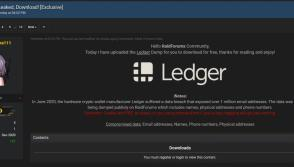 Ledger data breach