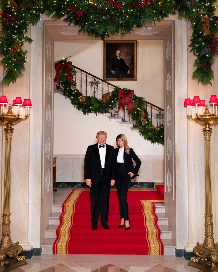 Trump Christmas Card 2020