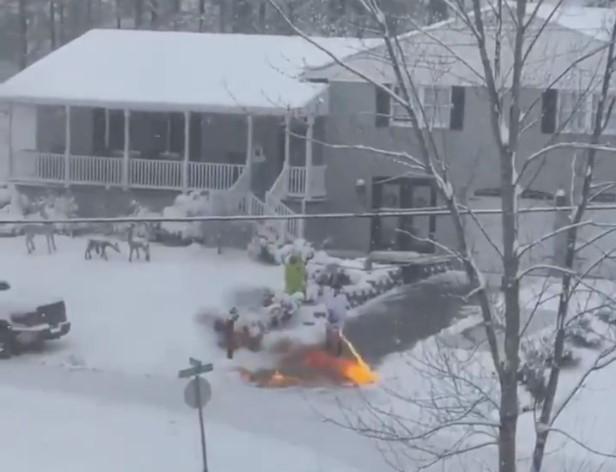 Kentucky flamethrower
