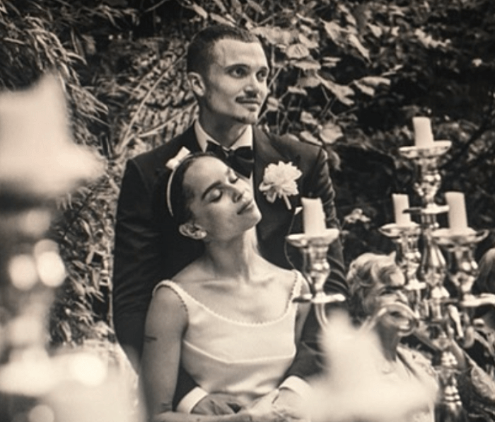 Zoë Kravitz and Karl Glusman Split