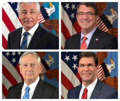 Extraordinary warning to Trump by 10 former Pentagon chiefs
