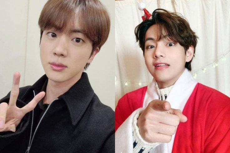 BTS Jin and V