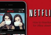 Netflix movies and TV shows now available for offline viewing