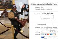 US House Speaker Podium listing on eBay