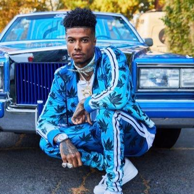 Rapper Blueface