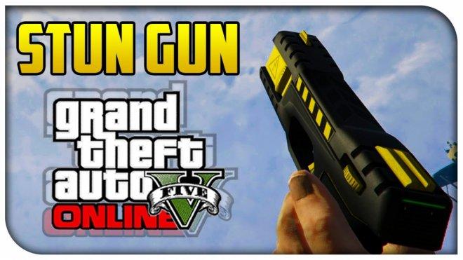 GTA 5 Online Stun Gun