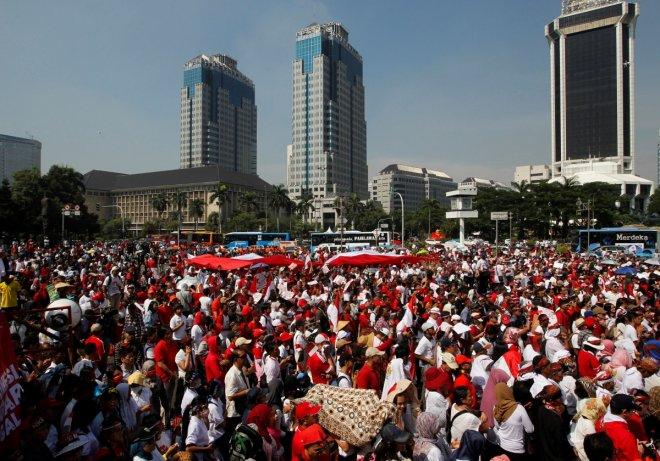 Jakarta rally