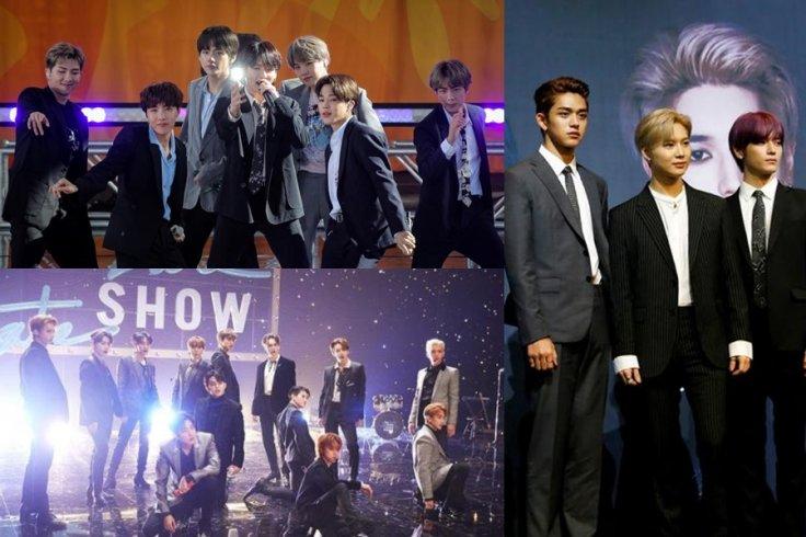 Idol Boy Group Brand Reputation for January