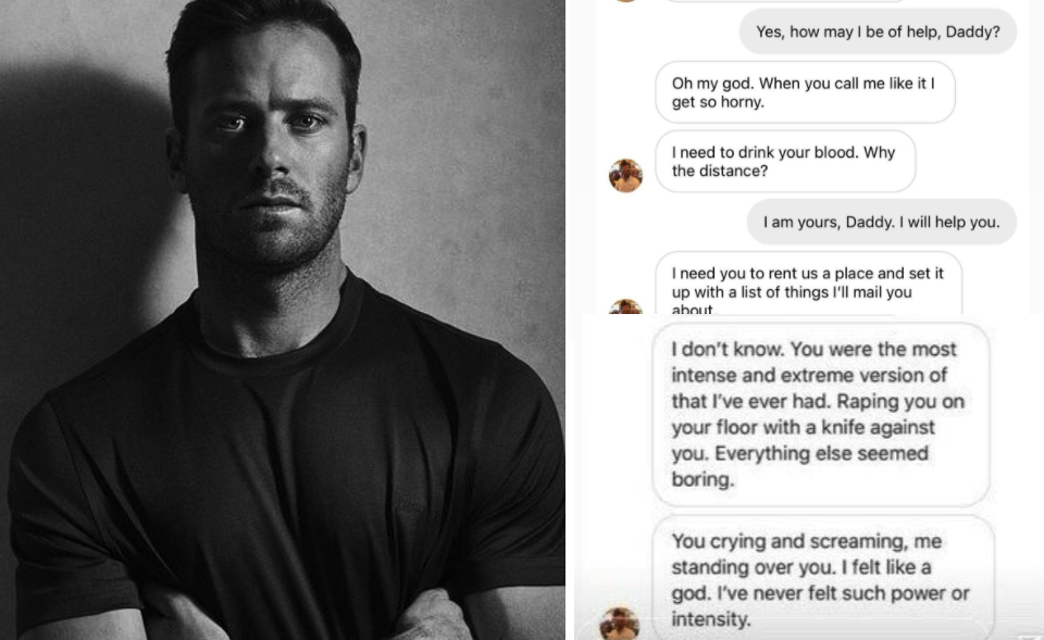 Armie Hammer Trends on Twitter After Alleged DMs Leak Online