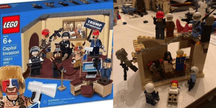 The 'Capitol Invasion' Lego set