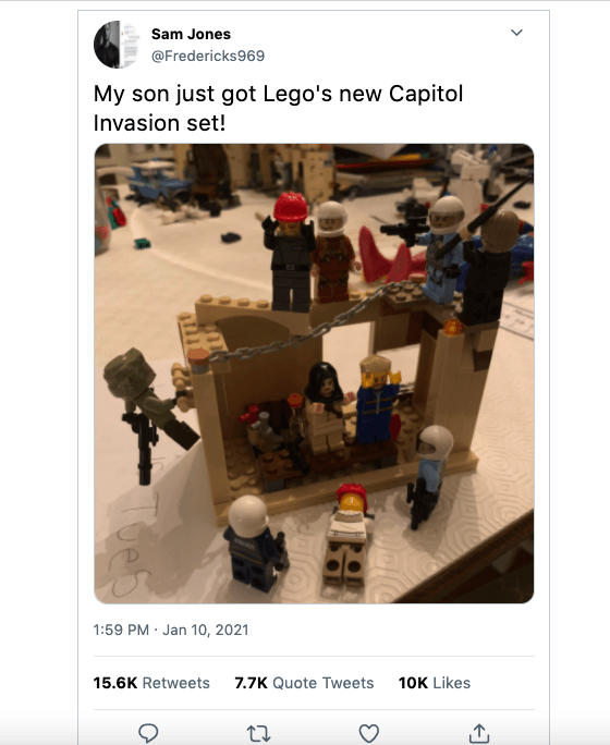 The Capitol Invasion Lego Set