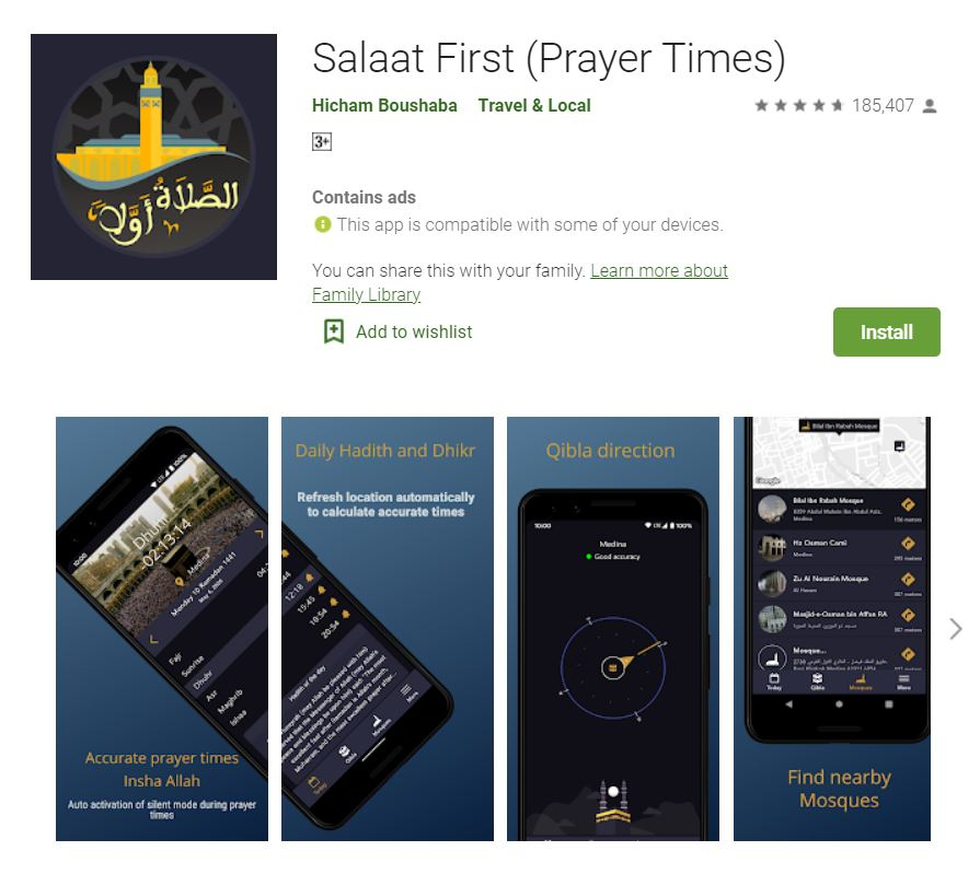 Salaat First: Another Popular Muslim Prayer App Sells Location Data to FBI, ICE