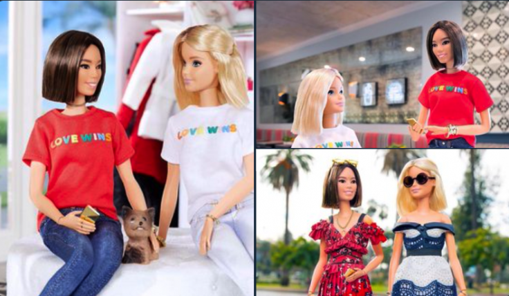 Barbie's collaboration with Aimee Song