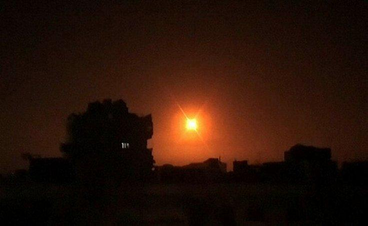 Israel airstrike targets Iranian assets in Syria