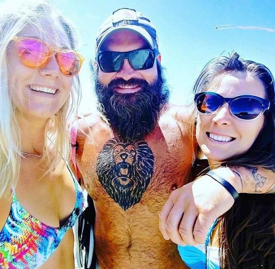Ashli, Aaron Babbitt with girlfriend Kayla Joyce