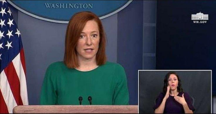 Jen Psaki and Heather Mewshaw