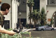 GTA 5: Bodyguards in Import/Export DLC