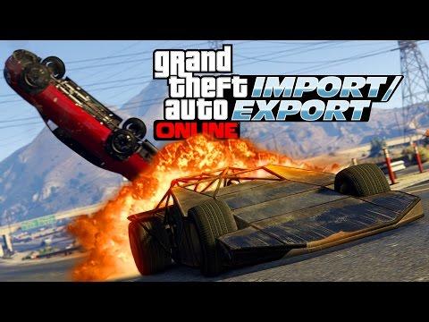 GTA 5 Online: Import/Export DLC