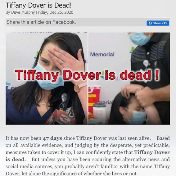 Tiffany Dover Fake News