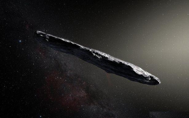 Oumuamua Comet