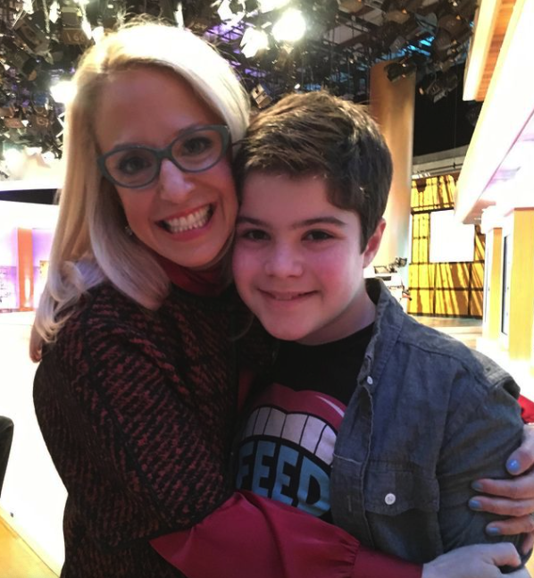 Laura Berman and her son, Samuel