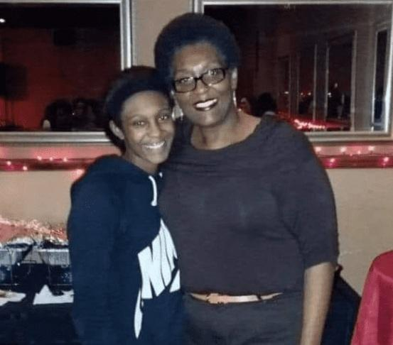 Marietta Matthews with her mother Tamiko Merriwether