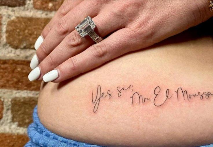 Heather Rae Young Gets A New Tattoo