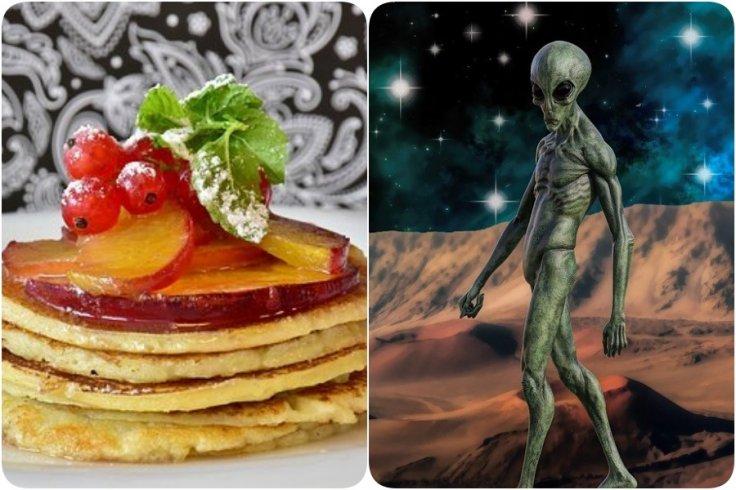 aliens pancake