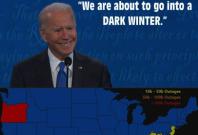 Biden Dark Winter conspiracy theory