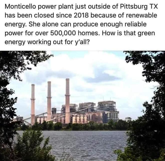 Monticello power plant