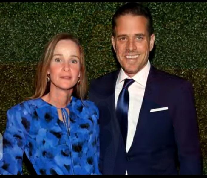 HUnter Biden with his first wife Kathleen