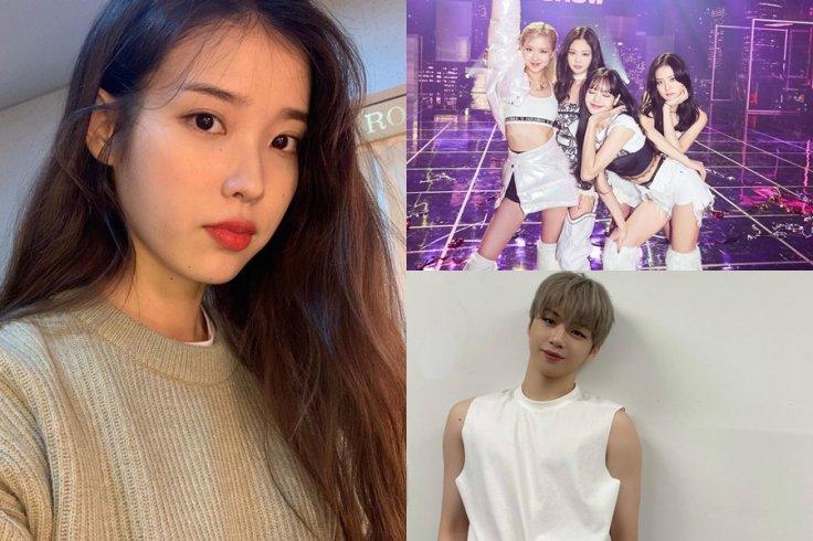 IU Rose Beat Blackpink, Im Young Woong, Kang Daniel