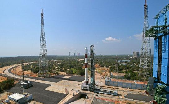 ISRO launches Brazilian satellite