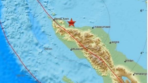 Shallow earthquake of magnitude 6.4 strikes Banda Aceh in Indonesia
