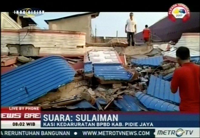 UPDATE: 20 killed in magnitude 6.5 earthquake in Banda Aceh, Indonesia
