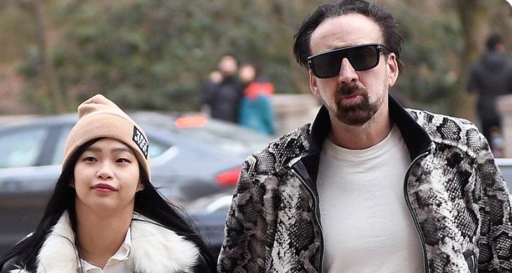 Nicholas Cage and Riko Shibata