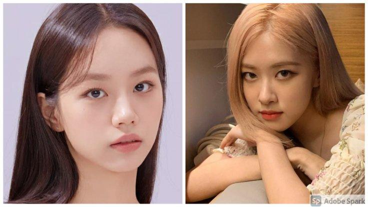 Blackpink's Rose and Girl's Day's Hyeri