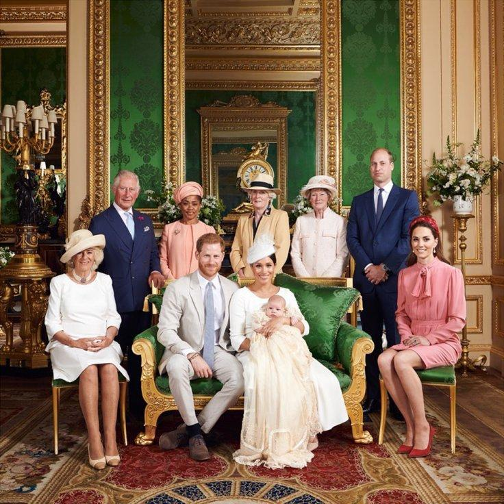 The British Royal Family Buckingham Palace