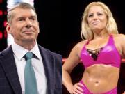 Vince McMahon and Trish Stratus