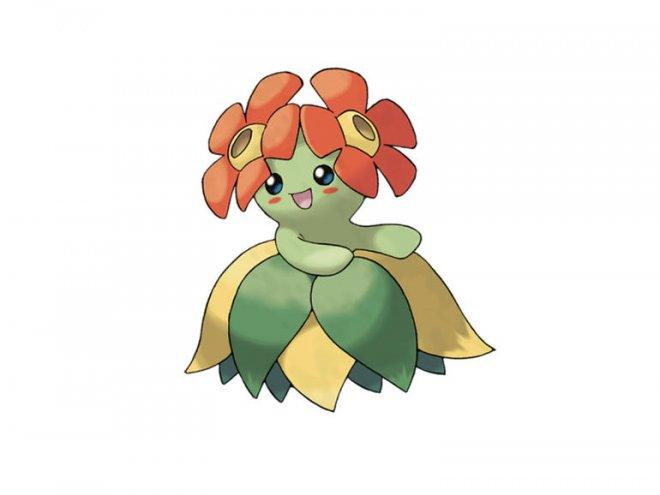 Gloom evolves into Bellossom
